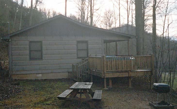Nc Cabin Rentals In Bryson City Cherokee And Nantahala